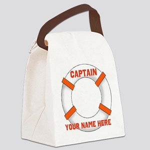 custom Captain Canvas Lunch Bag
