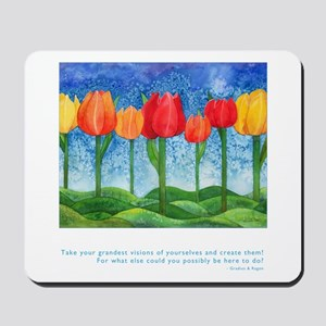 Grandest Visions Quote Mousepad