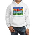 Grandest Visions Quote Hooded Sweatshirt