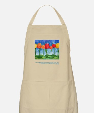 Grandest Visions Quote Apron