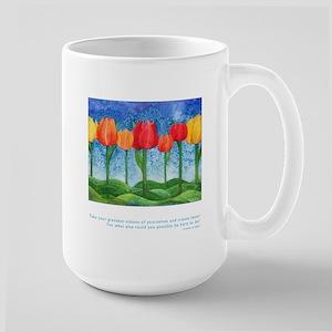 Grandest Visions Quote Large Mug
