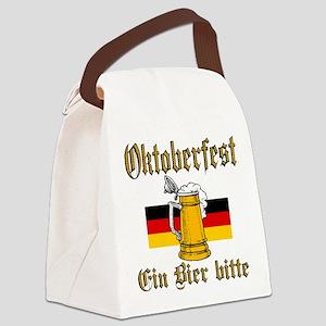 ein beer Canvas Lunch Bag
