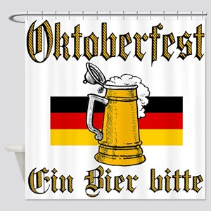 ein beer Shower Curtain