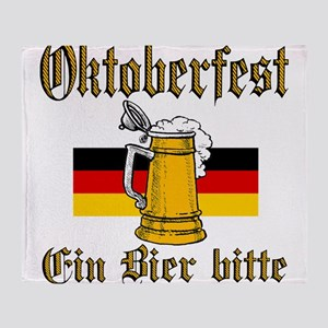 ein beer Throw Blanket