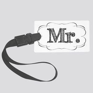 mr Large Luggage Tag