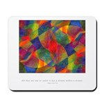 Dream Within Dream Quote Mousepad