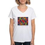 Dream Within Dream Quote Women's V-Neck T-Shirt