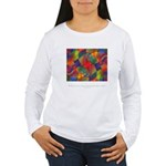 Dream Within Dream Quote Women's Long Sleeve T-Shi