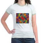 Dream Within Dream Quote Jr. Ringer T-Shirt