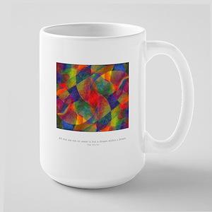 Dream Within Dream Quote Large Mug