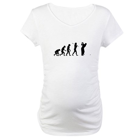 Funny Golf Maternity T-Shirt