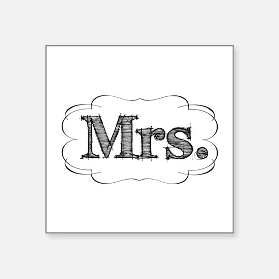 """mrs.png Square Sticker 3"""" x 3"""""""