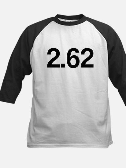 2.62, Marathon Parody, Kids Baseball Jersey