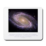 Everything is Conscious Quote Mousepad