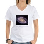 Everything is Conscious Quote Women's V-Neck T-Shi
