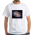 Everything is Conscious Quote White T-Shirt