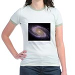 Everything is Conscious Quote Jr. Ringer T-Shirt