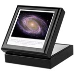 Everything is Conscious Quote Keepsake Box