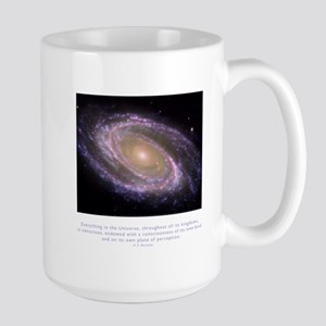 Everything is Conscious Quote Large Mug