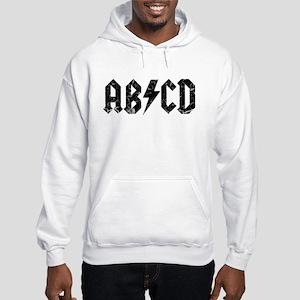 ABCD, Vintage, Hooded Sweatshirt