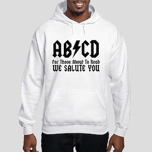 ABCD, We Salute You, Hooded Sweatshirt