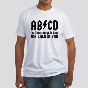 ABCD, We Salute You, Fitted T-Shirt