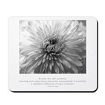 Reflection Creation Quote Mousepad