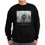 Reflection Creation Quote Sweatshirt (dark)
