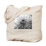 Reflection Creation Quote Tote Bag