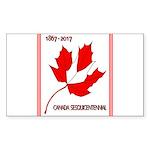 Canada, Sesquicentennial Sticker (Rectangle 50 pk)