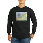 Wise Man Sees Quote Long Sleeve Dark T-Shirt