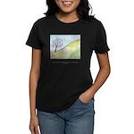 Wise Man Sees Quote Women's Dark T-Shirt