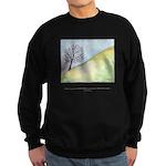 Wise Man Sees Quote Sweatshirt (dark)