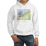 Wise Man Sees Quote Hooded Sweatshirt