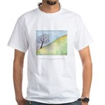 Wise Man Sees Quote White T-Shirt