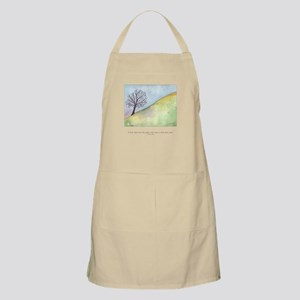 Wise Man Sees Quote Apron
