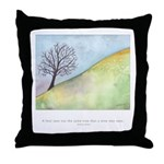 Wise Man Sees Quote Throw Pillow