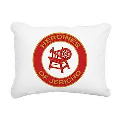 Heroines of Jericho Rectangular Canvas Pillow