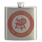 Heroines of Jericho Flask