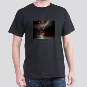 Universe Conspires Quote Dark T-Shirt