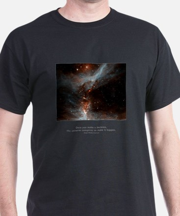 Universe Conspires Quote T-Shirt