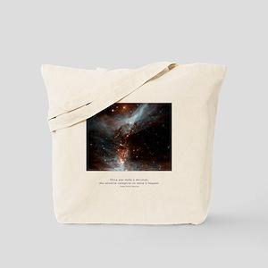 Universe Conspires Quote Tote Bag