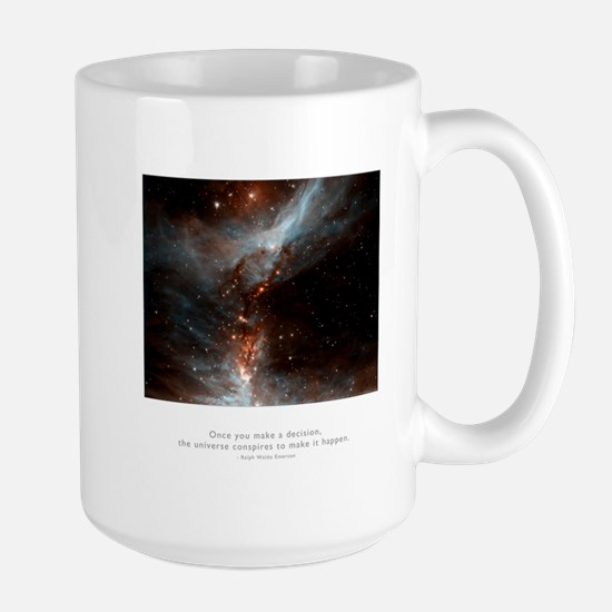 Universe Conspires Quote Large Mug