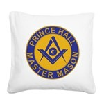 Prince Hall Master Masons Square Canvas Pillow