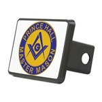 Prince Hall Master Masons Rectangular Hitch Cover