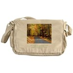 Buddha Road to Truth Quote Messenger Bag
