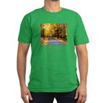 Buddha Road to Truth Quote Men's Fitted T-Shirt (d