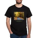 Buddha Road to Truth Quote Dark T-Shirt