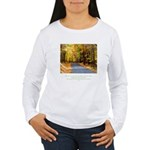 Buddha Road to Truth Quote Women's Long Sleeve T-S
