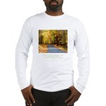 Buddha Road to Truth Quote Long Sleeve T-Shirt